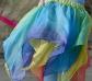 Falda de hada de seda