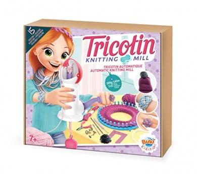 Tricotín automàtic + teler circular