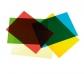 Acetatos translúcidos de colores