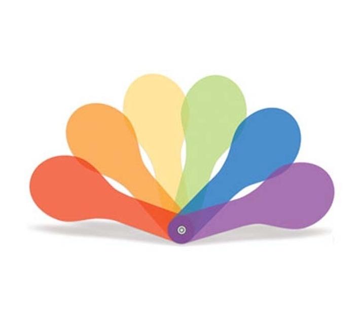 Paletes translúcides de colors