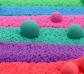Arena mágica kinetic sand Azul verdoso
