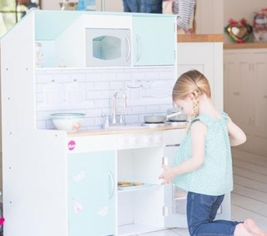 Cocina y casa de muñecas 2 en 1