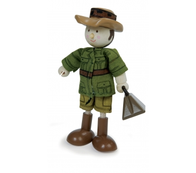 Explorador articulat de joguina Tomas