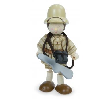 Explorador articulado de juguete Jack