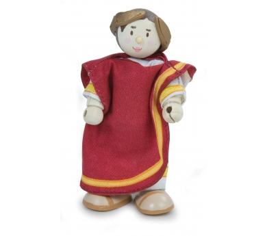 Personajes históricos y fantásticos articulados de juguete