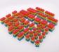 160 Piezas encajables de silicona