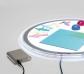Cargador portátil para mesas de luz