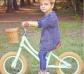 Bicicleta sin pedales vintage