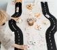 Carretera flexible de caucho 16 piezas