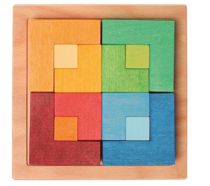 Puzzle quadrat Grimm's