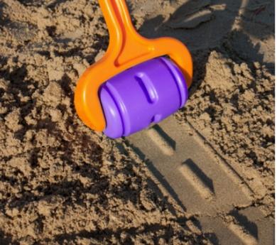 Rodillo para carreteras de arena