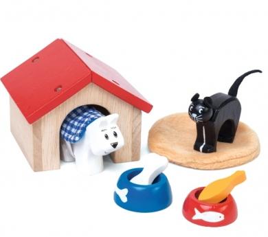 Mascotas de juguete de madera