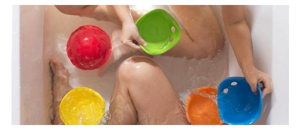 Joguines per a la banyera