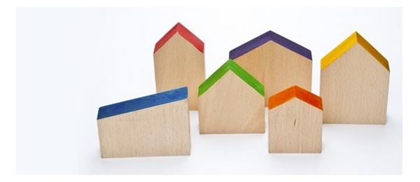 Piezas estructuradas para minimundos