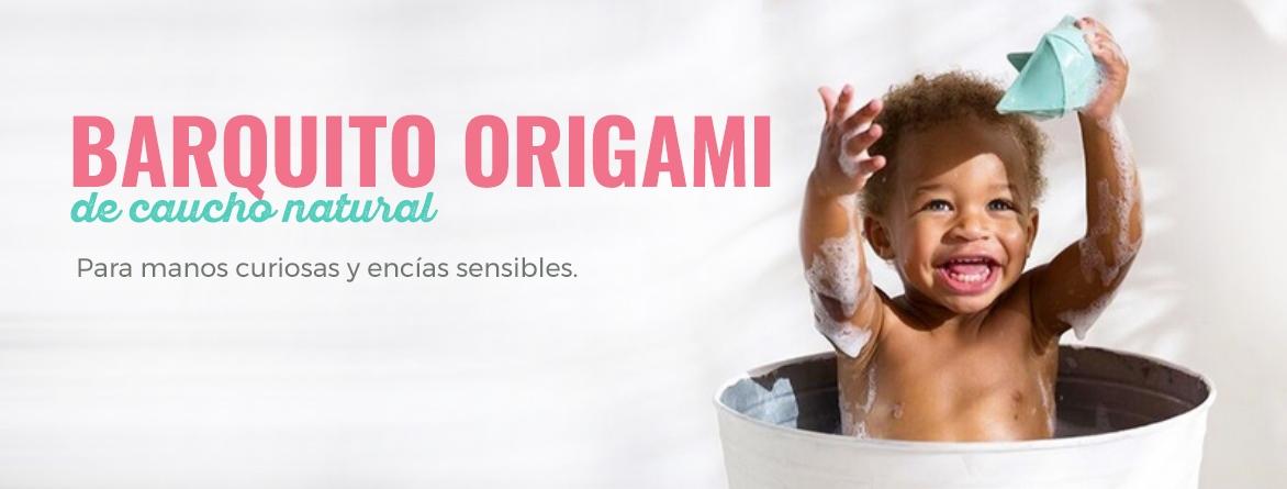 BARQUITO ORIGAMI CAUCHO NATURAL