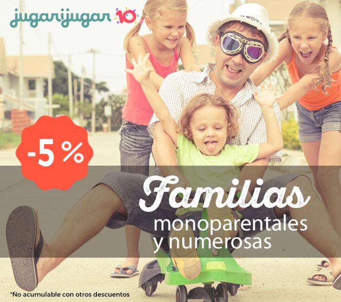 Familias numerosas y monoparentales